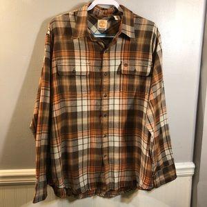 Timberland Plaid Button Down Shirt